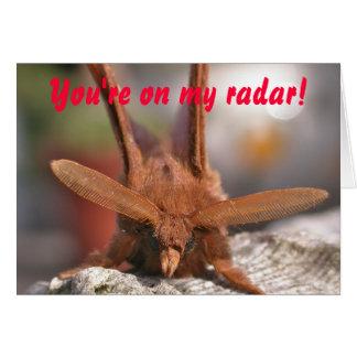 バレンタインのガのアンテナ: あなたは私のレーダーで! カード