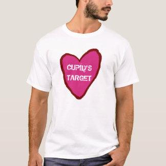 バレンタインのキューピッドのターゲット Tシャツ