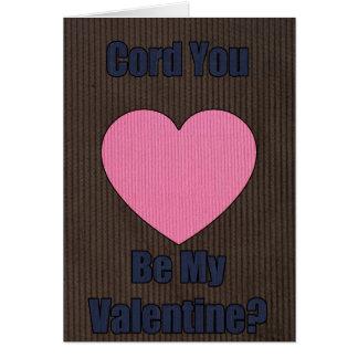 バレンタインのコード カード