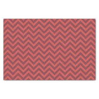 バレンタインのシェブロンパターン 薄葉紙
