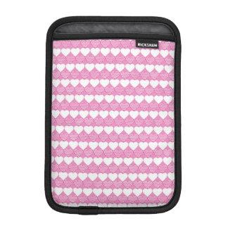 バレンタインのハートすべて続けて iPad MINIスリーブ