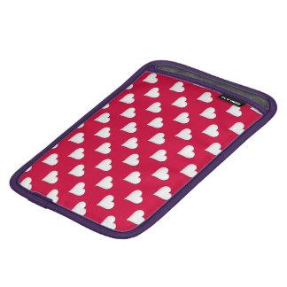 バレンタインのハートのプリント iPad MINIスリーブ