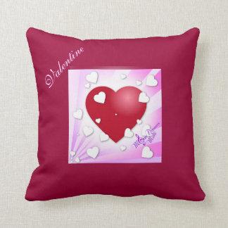 バレンタインのハートの枕 クッション