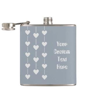 バレンタインのハートカスタムな色のフラスコ フラスク