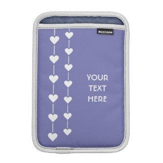 バレンタインのハートカスタムな色装置袖 iPad MINIスリーブ