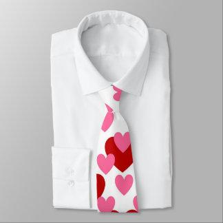 バレンタインのハート愛 ネクタイ