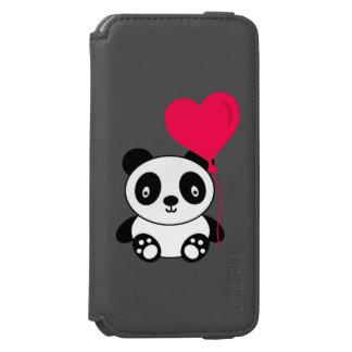 バレンタインのパンダ INCIPIO WATSON™ iPhone 6 ウォレットケース