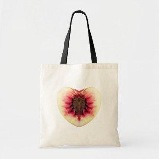 バレンタインのモモのバッグ トートバッグ