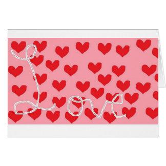 バレンタインの俳句 カード
