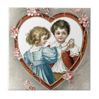 バレンタインの子供 タイル