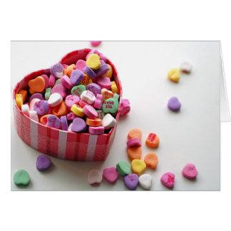 バレンタインの恋人キャンデー カード
