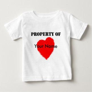 バレンタインの特性の ベビーTシャツ
