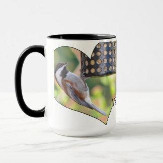 バレンタインの《鳥》アメリカゴガラ マグカップ