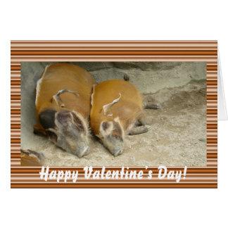 バレンタインのday_のwarthogカード カード