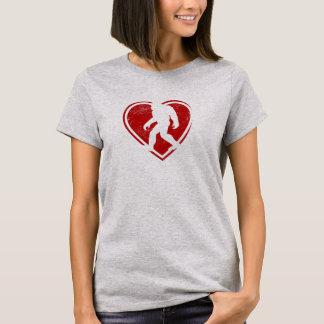 バレンタインのSquatchのTシャツ Tシャツ