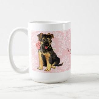 バレンタインはGSD上がりました コーヒーマグカップ