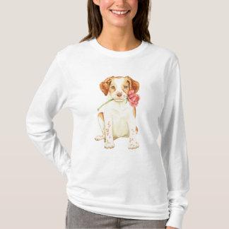バレンタインばら色のブリッタニー Tシャツ
