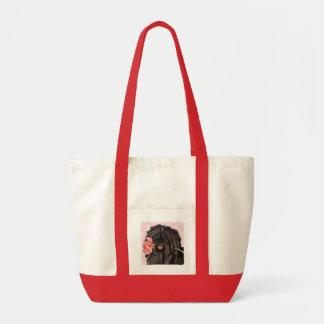 バレンタインばら色のPuli トートバッグ