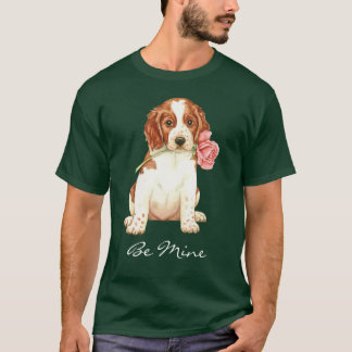 バレンタインばら色のWelshie Tシャツ