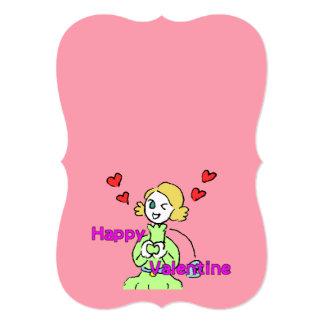 バレンタインカード香るやつら2-35 12.7 X 17.8 インビテーションカード
