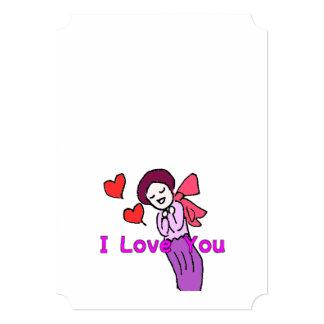 バレンタインカード香るやつら2-36 12.7 X 17.8 インビテーションカード