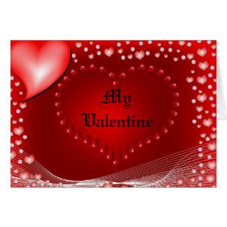 バレンタインカード カード