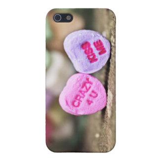 バレンタインキャンデーのハート熱狂するな4つのUのiPhoneの場合 iPhone 5 Case