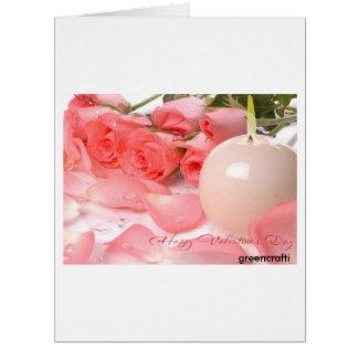バレンタインデーによっては挨拶状が開花します カード