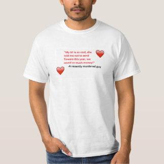 バレンタインデーのうぶな人 Tシャツ