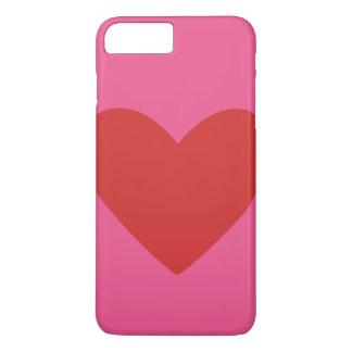 バレンタインデーのギフトのハートのiPhoneの場合 iPhone 8 Plus/7 Plusケース
