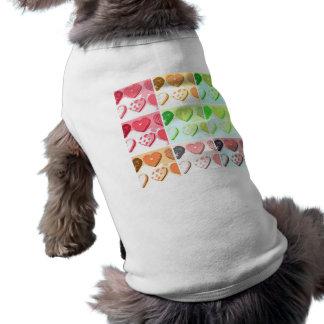 バレンタインデーのクッキー ペット服