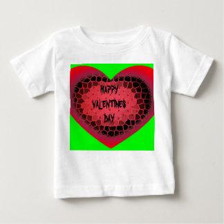 バレンタインデーのワイシャツ ベビーTシャツ