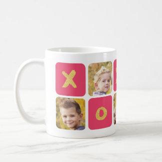 バレンタインデーの写真のコラージュのマグ コーヒーマグカップ