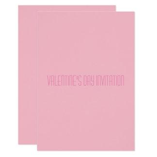 バレンタインデーの招待 カード