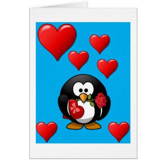 バレンタインデーの挨拶状 カード