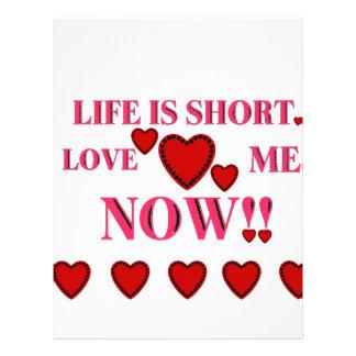 バレンタインデーの生命は短いです今愛します私を レターヘッド