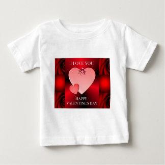 バレンタインデーの記念品 ベビーTシャツ
