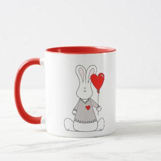 バレンタインデーの赤11のozのコンボのマグ マグカップ