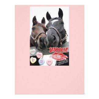 バレンタインデーの馬 レターヘッド