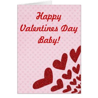 バレンタインデーはカードを分割します カード