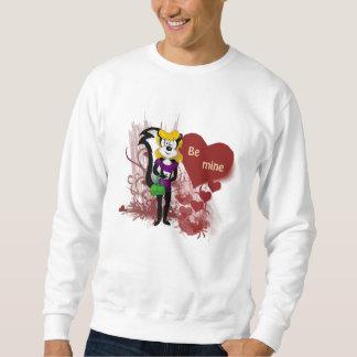 バレンタインデーは鉱山のスエットシャツです スウェットシャツ