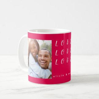 バレンタインデー愛 コーヒーマグカップ