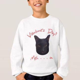 バレンタインデー猫Meh スウェットシャツ