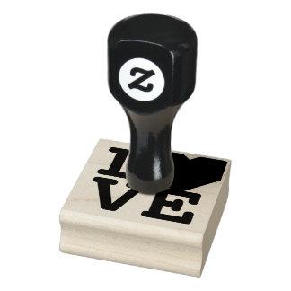 バレンタインデーDIYの芸術の技術を結婚する愛ハート ラバースタンプ