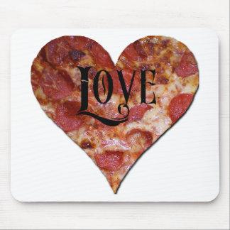 バレンタイン愛ピザ マウスパッド