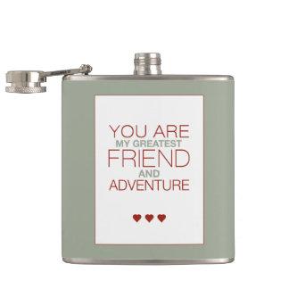 バレンタイン私のすばらしい友人です フラスク