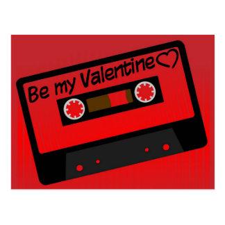 バレンタイン音楽 ポストカード