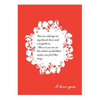 バレンタイン12 ポストカード