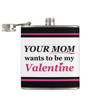 バレンタイン-あなたのお母さん フラスク