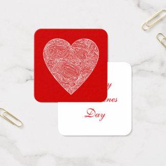 バレンタイン スクエア名刺
